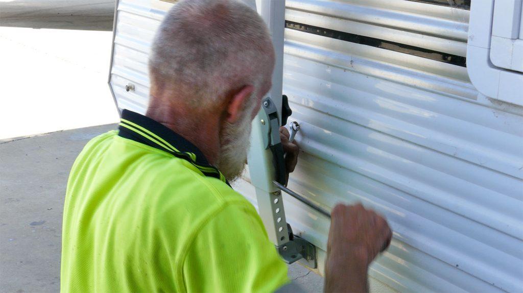 Installing Caravan Annex