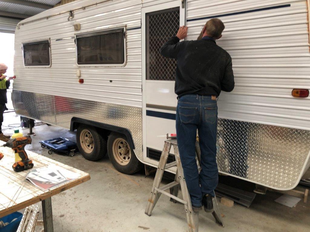 Caravan Insurance Rebuild
